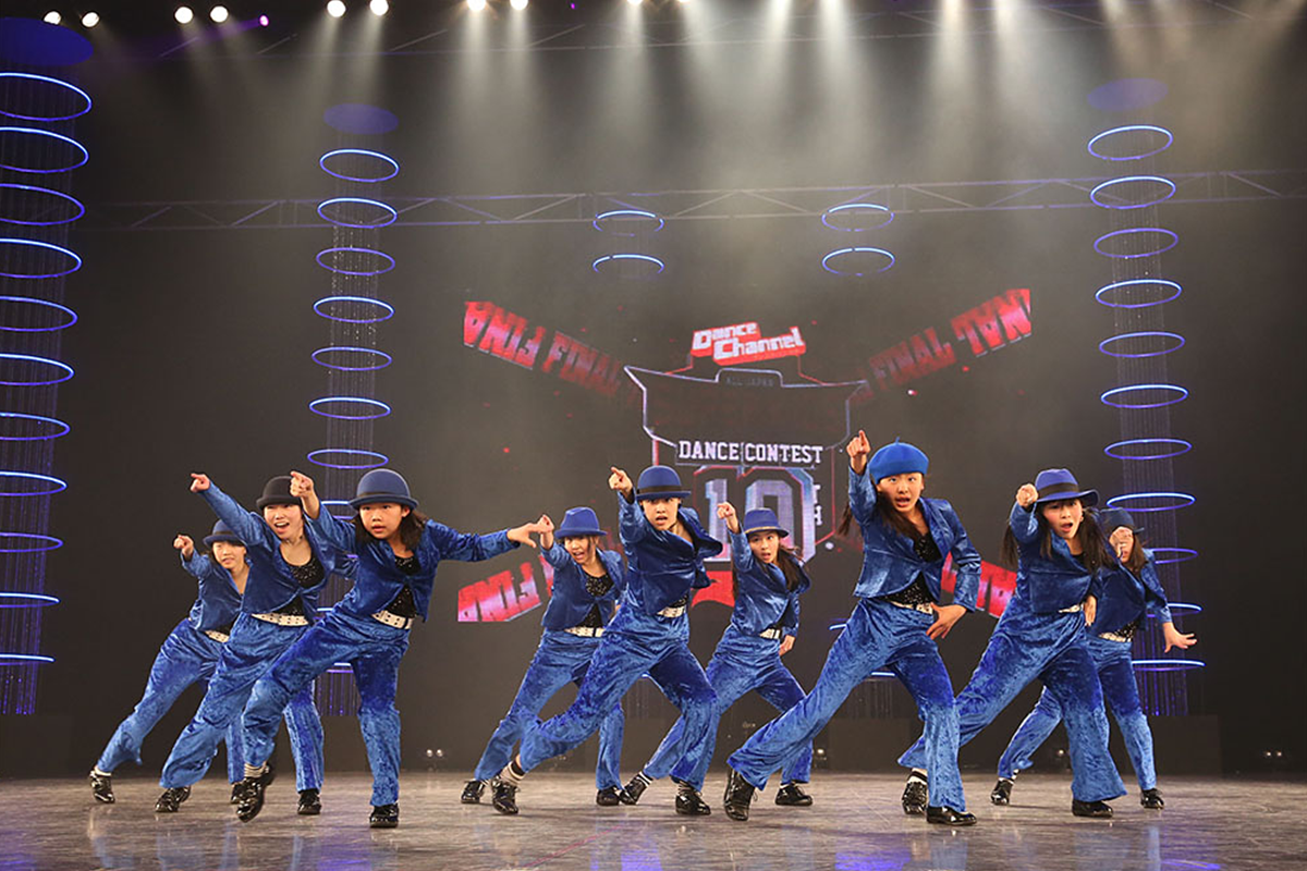 ダンスチャンネル ALL JAPAN SUPER KIDS DANCE CONTEST 2015 FINAL